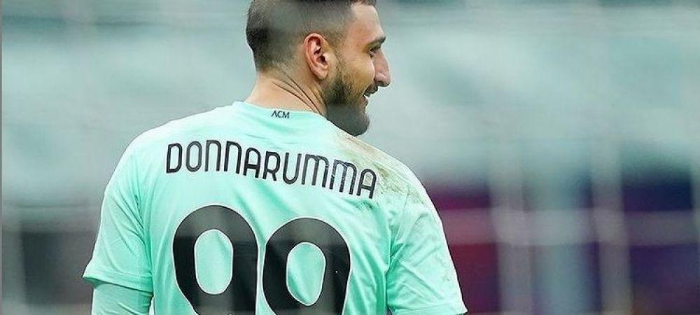 """Mesajul de despartire al lui Donnarumma de AC Milan. """"Unele alegeri sunt dificile, dar fac parte din maturizarea unui barbat"""""""