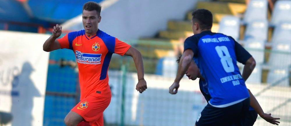 Blestemul continua la FCSB! Dinu Todoran va incepe campionatul fara un om de baza! Mihai Stoica a anuntat ca jucatorul este accidentat