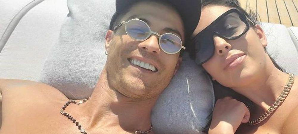 """Georgina Rodriguez, noi postări din vacanță! Cum se relaxează alături de Cristiano Ronaldo: """"Iubindu-te pe mare"""""""