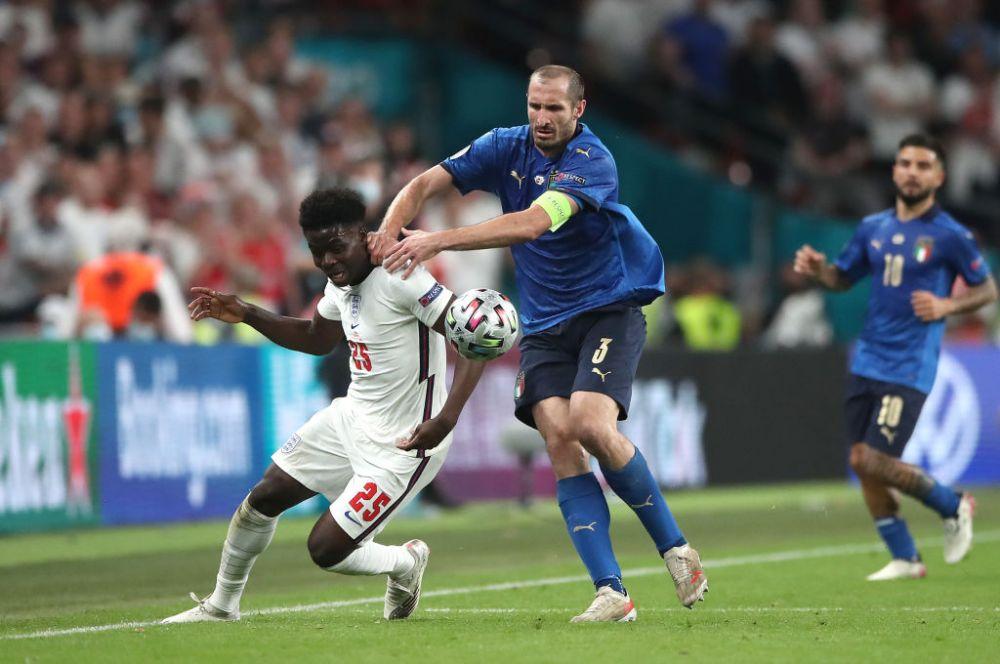 Jose Mourinho, impresionat de interventia lui Chiellini din finala Euro 2020!