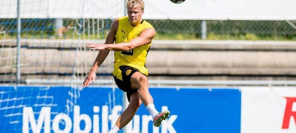 Haaland, aproape de plecarea de la Dortmund?! Ce le-a spus ziaristilor la revenirea la antrenamentele Borussiei