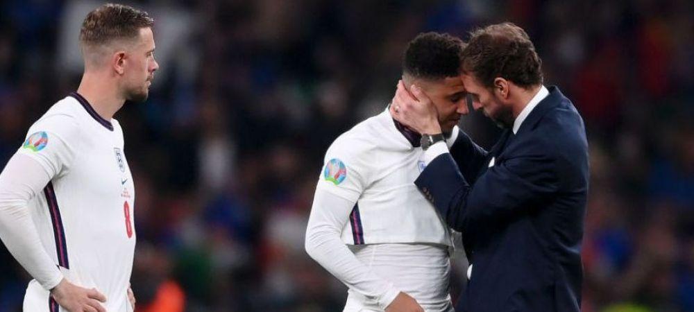 """Primul mesaj al lui Sancho dupa ratarea penalty-ului din finala Euro 2020: """"Ma voi preface ca nu am vazut abuzul rasial pe care l-am primit!"""""""