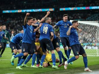 Clipul care pune capat speculatiilor despre italieni. Aproape 5 milioane de oameni au vazut ce au facut jucatorii lui Mancini la finala EURO