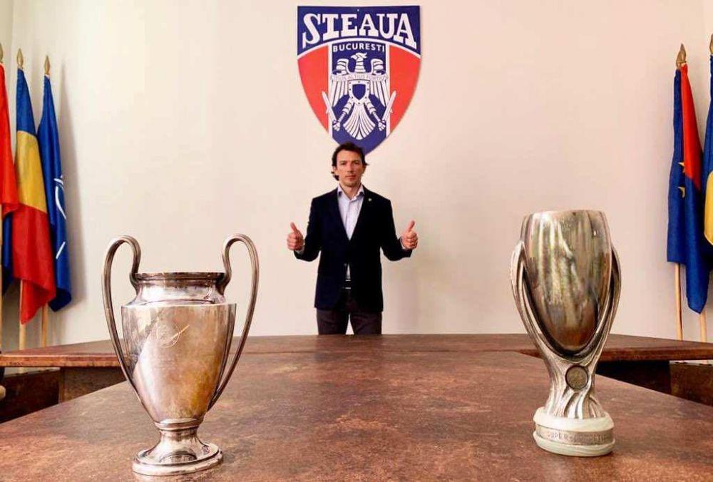 EXCLUSIV | George Ogararu nu ar fi fost manager general niciodata la Steaua! Motivul incredibil pentru care fostul jucator al lui Ajax nu s-a incadrat pentru aceasta functie