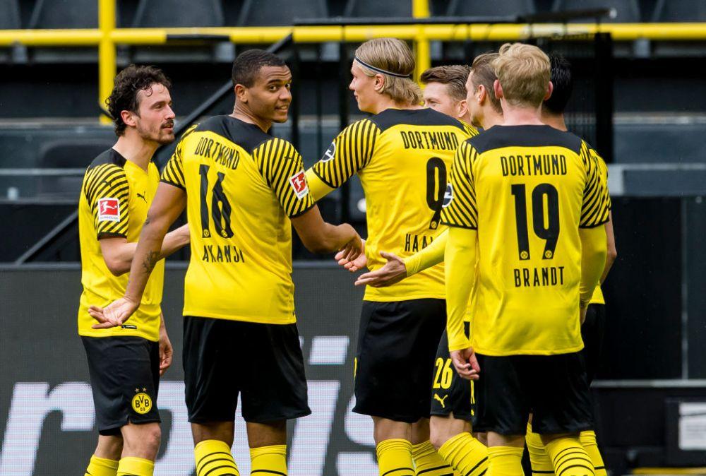 E dorit de toata Europa, dar s-a prezentat la reunirea lotului Borussiei Dortmund! Imagini cu Haaland, dezlantuit la primul antrenament din acest sezon