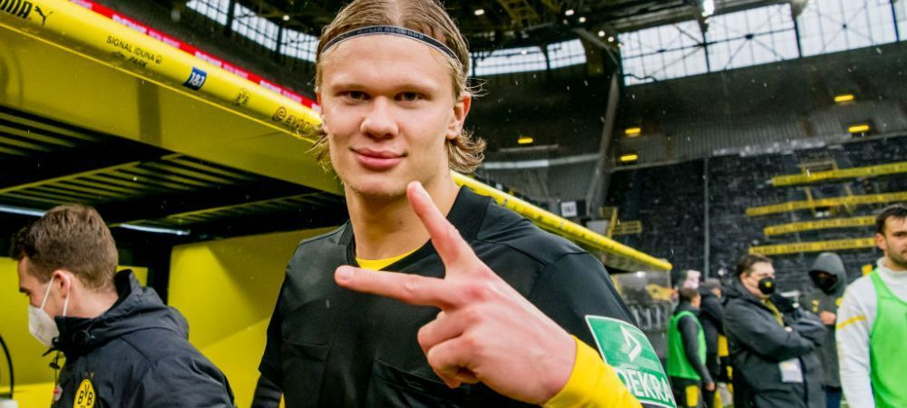 E dorit de toata Europa, dar s-a prezentat la reunirea lotului Borussiei Dortmund! Imagini cu Haaland, dezlantuit la primul antrenament