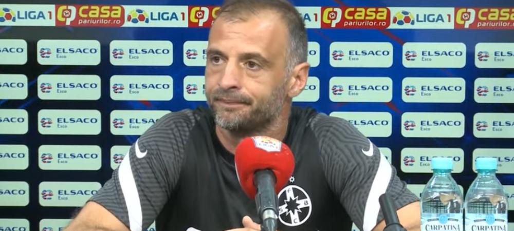 Pe repede inainte! Dinu Todoran a stabilit un nou record la meciul cu FC Botosani. Cate secunde a stat la conferinta de presa