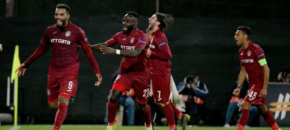 CFR Cluj castiga meciul nebun cu FCU Craiova! Oltenii au egalat dupa ce au fost condusi cu 2-0, insa Petrila a marcat golul victoriei campioanei
