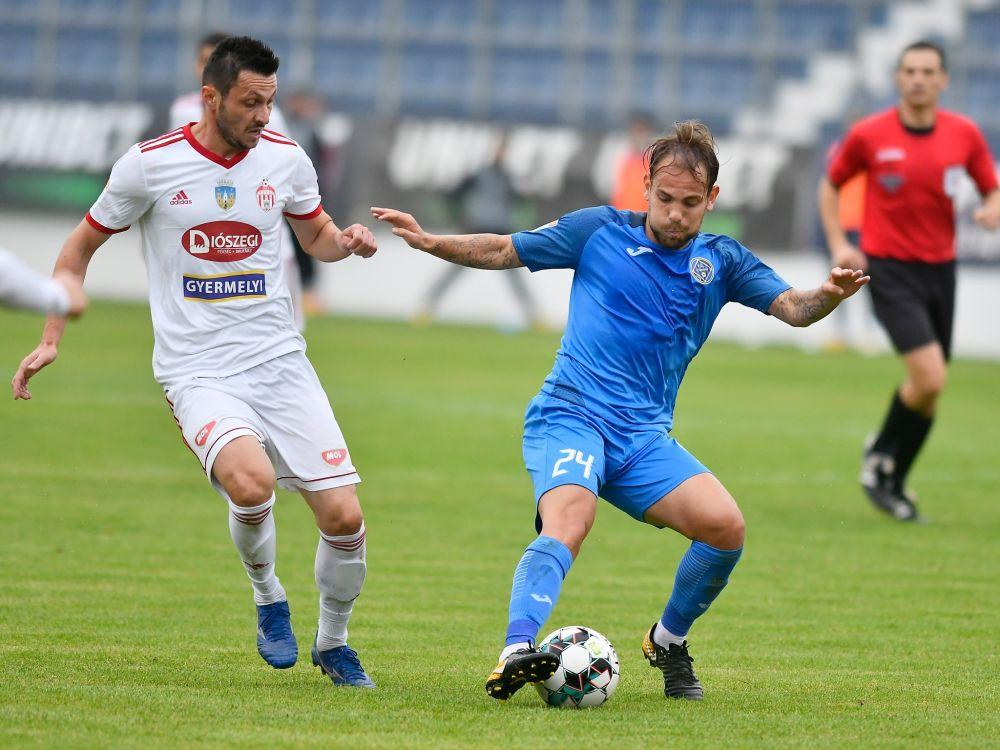 Ilie Poenaru, despre debutul in noul sezon si meciul cu Sepsi: