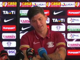 """Sapunaru, discurs in forta la revenirea in Liga 1: """"Noi jucam cu Craiova, dar care e Craiova? Nu am vazut sa retrogradeze Steaua!"""""""
