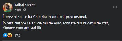Bogdan Chipirliu i-a rapuns lui Mihai Stoica, dupa ironia managerului de la FCSB: