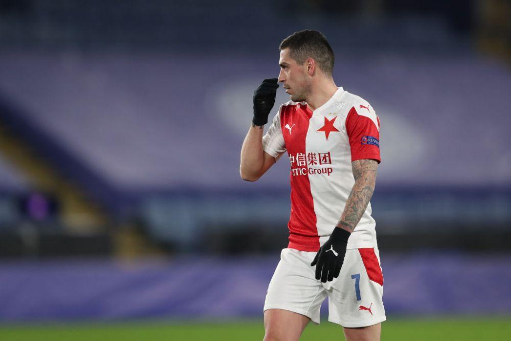 Super gol inscris de Stanciu in primul amical al Slaviei! L-a invins pe portar cu o executie din afara careului
