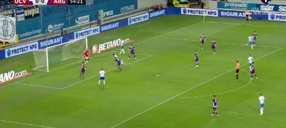 Craiova se impune la limita in fata Argesului! Ivan, marcatorul unui gol spectaculos, la capatul unei faze superbe create de Cimpanu. Aici ai cele mai frumoase faze din Craiova 1-0 Arges
