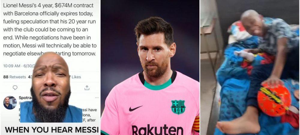 """Reactie geniala a unui barbat cand a aflat cat castiga Messi! Ce a putut sa ii faca fiului sau: """"De ce te bucuri de vara?!"""""""