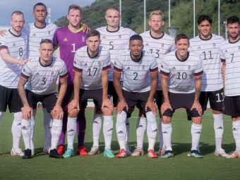 Nationala olimpica a Germaniei, victima rasismului! Nemtii au iesit de pe teren in ultimul amical disputat