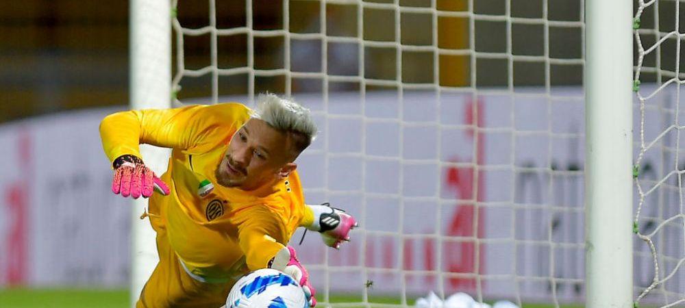 """""""Super-Radu!"""" Ionut Radu a facut spectacol in poarta lui Inter si i-a adus prima victorie lui Inzaghi, la loviturile de departajare"""