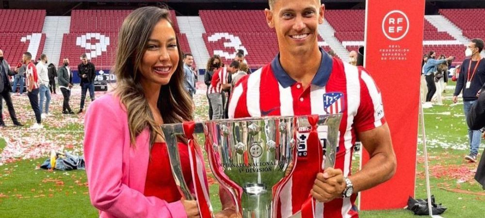 Starul lui Atletico si-a pacalit iubita pentru a o duce pe stadion! Ce a urmat cand au ajuns acolo a uimit-o pe tanara