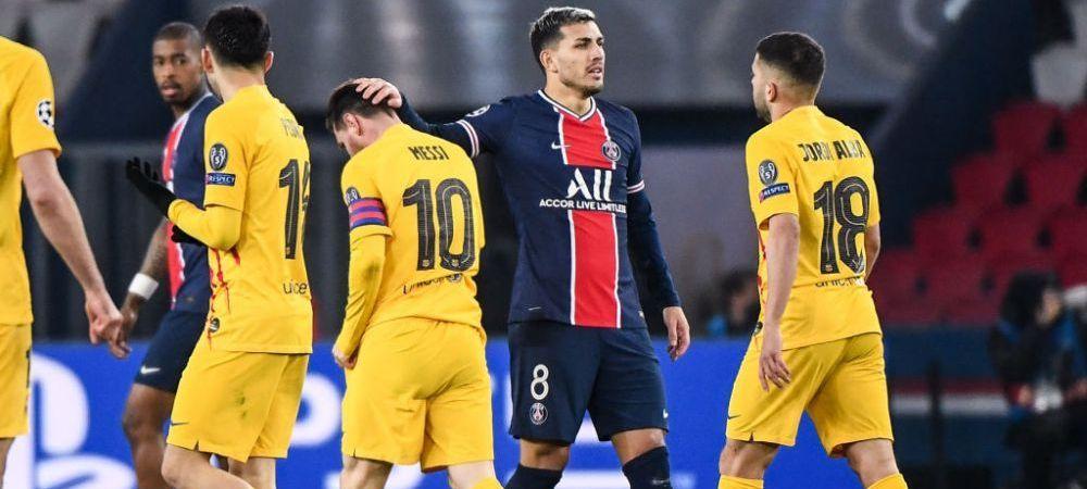 """""""Putea veni la PSG!"""" Coechipierul lui Messi de la nationala a dezvaluit care a fost reactia din vestiarul lui PSG la anuntul posibilului transfer al starului Barcelonei"""