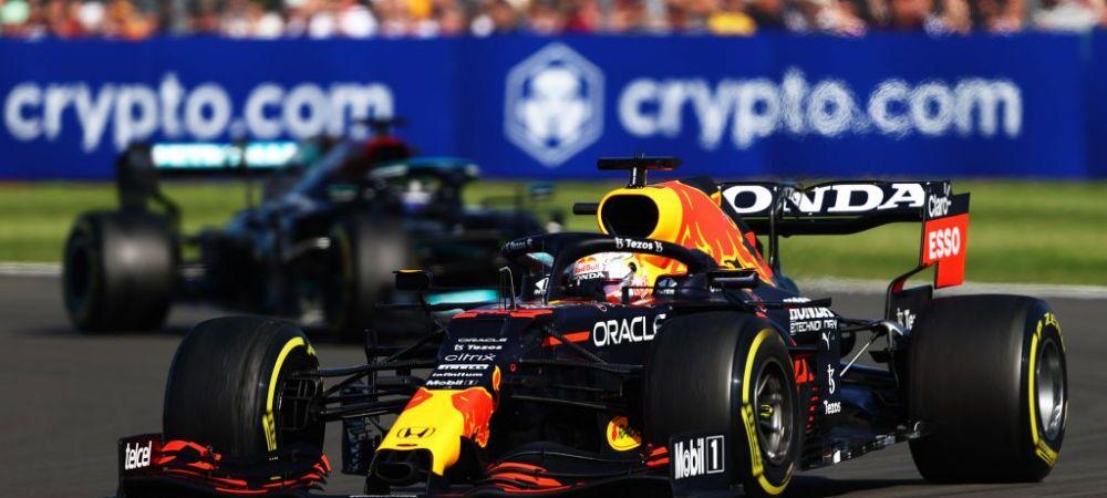 Nebunie totala in MP al Marii Britanii! Verstappen, aruncat de Hamilton in parapetul de protectie inca din primul tur. Britanicul, penalizare de zece secunde