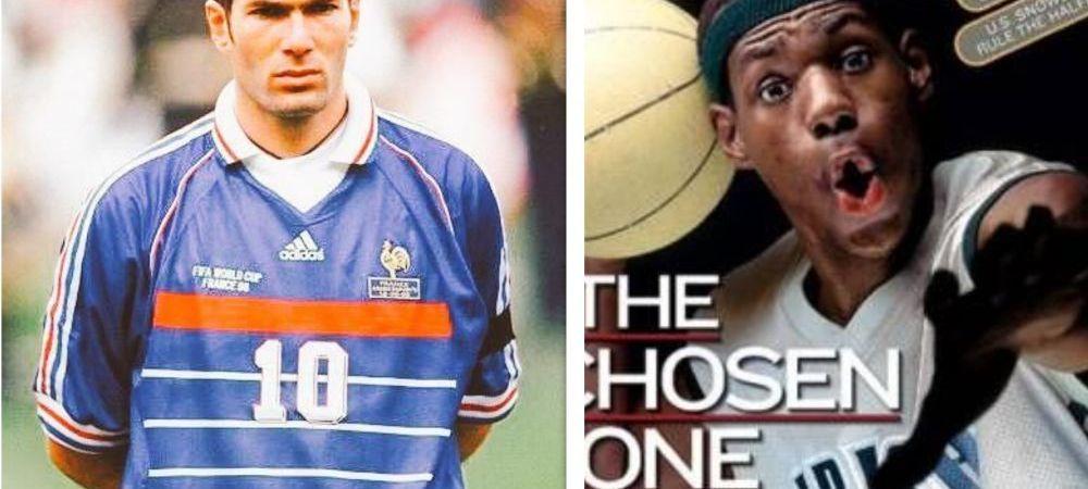 Au platit o avere pentru tricourile lui Zidane si LeBron James! Preturi-record, la o licitatie cu obiecte sportive din America