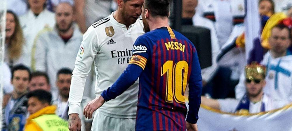 """""""Îmi place să joc cu cei mai buni jucători din lume și Messi este unul dintre ei"""". Sergio Ramos, declarații neașteptate despre rivalul său"""