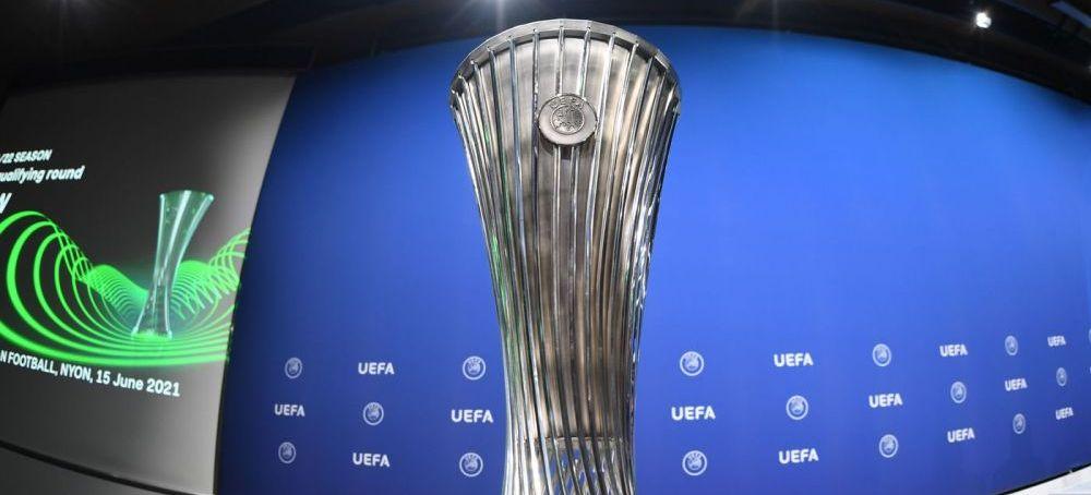 S-au aflat posiblii adversari ai echipelor românești din Conference League! Care sunt variantele cele mai optimiste