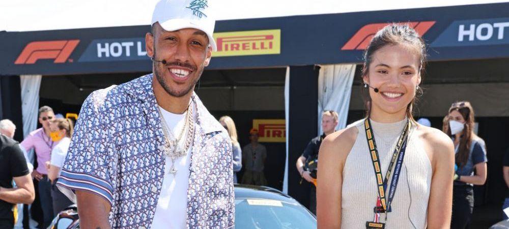 Emma Răducanu a văzut live victoria lui Hamilton de la Silverstone! Imagini cu tenismena de la circuitul Formulei 1