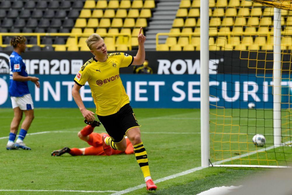 Borussia Dortmund joacă dur. Sumă impresionantă pentru care este dispusă să-l cedeze pe Haaland