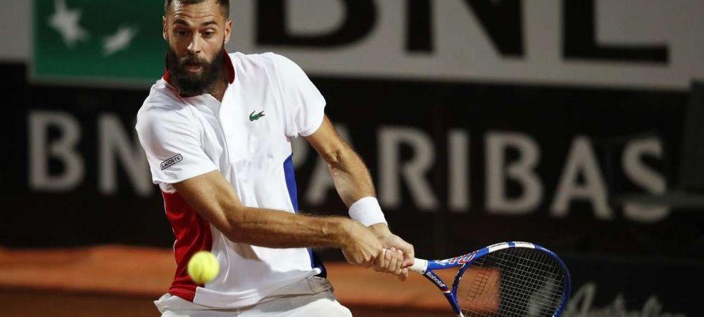 Lovitura imposibilă a devenit posibilă! :) Benoit Paire a sfidat legile fizicii pe terenul de tenis: cum și-a făcut adversarul să pară doar un amator
