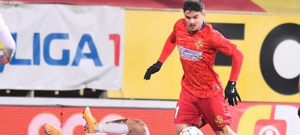 Fostul atacant de la FCSB, Buziuc, și-a găsit echipă! Rămâne în Liga 1, la o nou-promovată