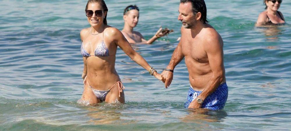 Fosta soție a luiVan der Vaart, apariție spectaculoasă la plajă alături de actualul partener. Cât de bine arată FOTO