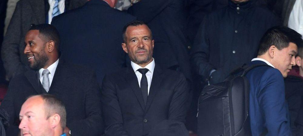 """Jorge Mendes, atacat dur de agentul unui jucător de la Barcelona! """"Totul e un rahat, toate poveștile sunt false"""""""