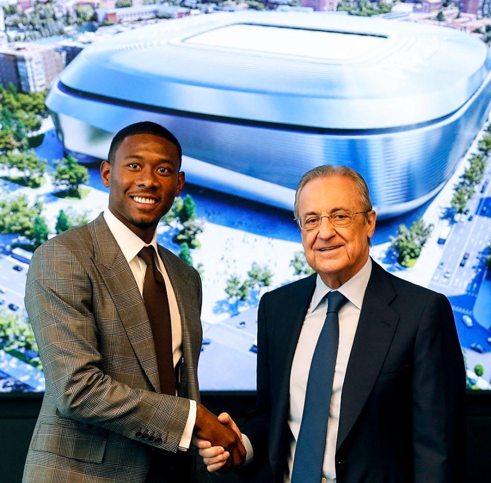 """El este """"noul Ramos"""" de la Real Madrid! Alaba a fost prezentat și va juca în tricoul fostului căpitan"""