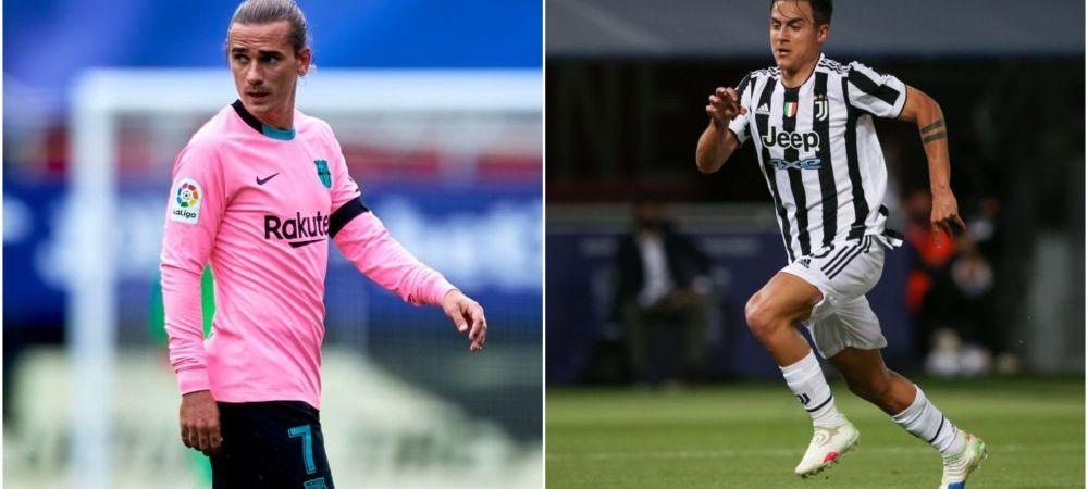 Răspunsul lui Juventus pentru Barcelona în cazul schimbului Griezmann - Dybala! Ce au spus italienii