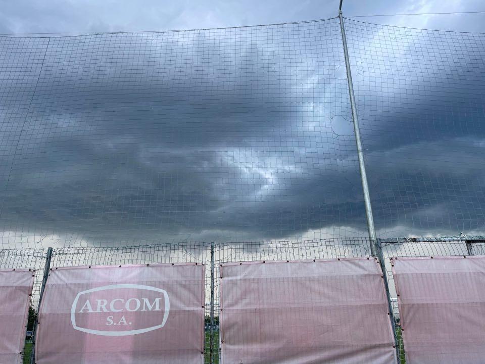 Antrenamentul FCSB a fost amânat din cauza furtunii! Detalii de ultimă oră