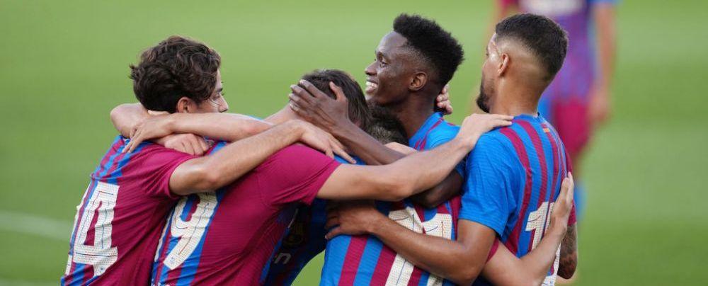 Surpriza lui Koeman din amicale în lipsa lui Messi! A marcat 3 goluri în 45 de minute
