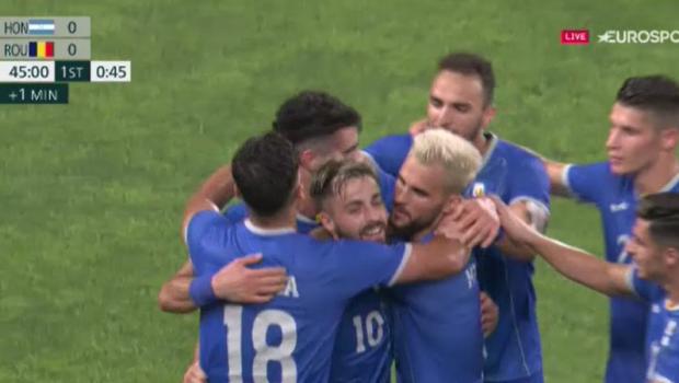 România - Honduras 1-0 | Victorie pentru tricolori la debutul de la Jocurile Olimpice. Cum arată clasamentul Grupei B