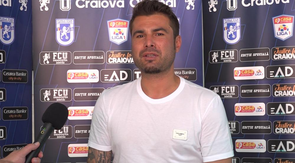 Adrian Mutu, susținut de un suporter important la meciul cu Dinamo: