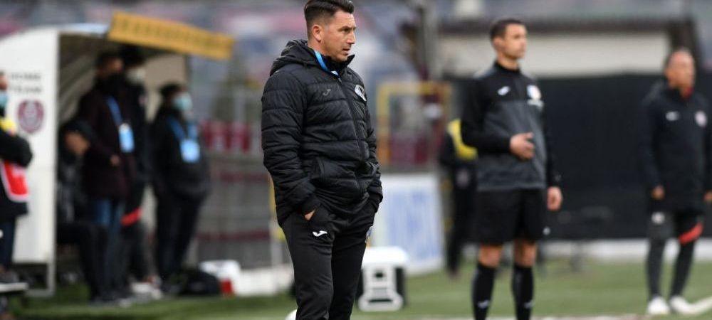 """llie Poenaru, înaintea meciului cu CFR Cluj: """"Am arătat rău la Sepsi, chiar foarte rău. Nu suntem într-un moment bun"""""""