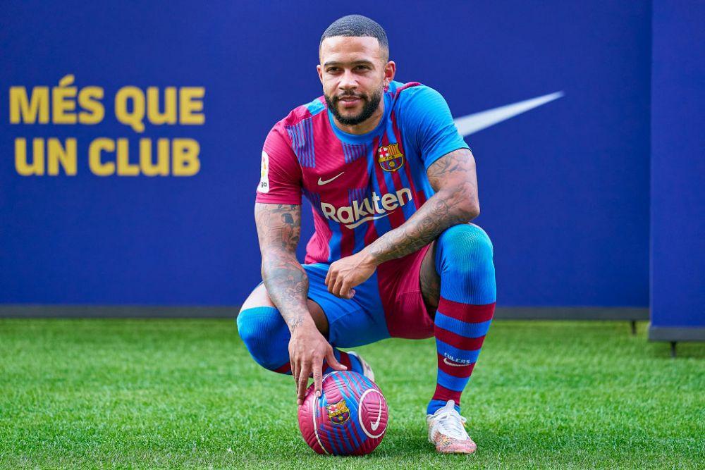 Memphis, prezentat oficial la Barcelona! Care au fost primele declarații ale atacantului