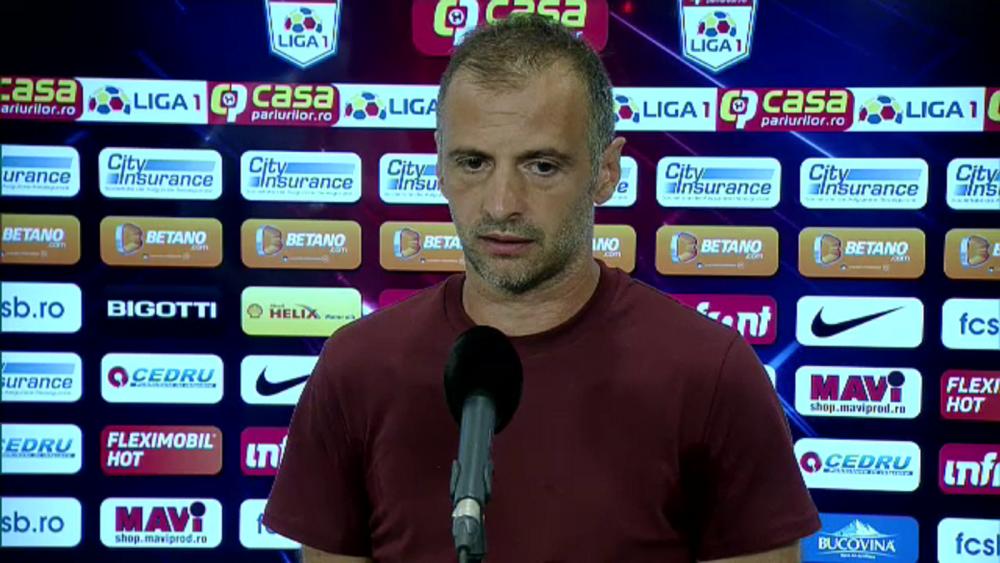 """EXCLUSIV   """"Știu de două ocazii, nu știu de șase!"""" Reacția lui Todoran după victoria din Conference League!"""