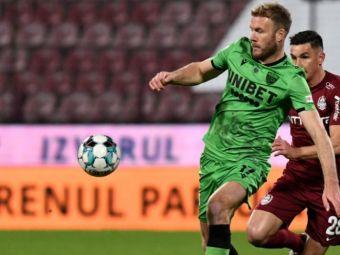 Adam Nemec nu va pleca din România!Vârful este la un pas de altă echipă din Liga 1! Clubul a confirmat interesul