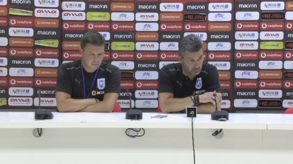 """""""Nu ne folosim creierul! Sunt extrem de dezamăgit!"""" Ouzounidis, car de nervi după înfrângerea din Albania"""