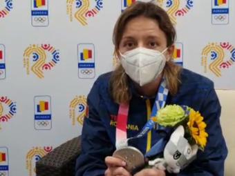 """EXCLUSIV   Primul mesaj al Anei Maria Popescu după argintul obținut la Tokyo: """"A fost cea mai chinuită medalie!"""""""
