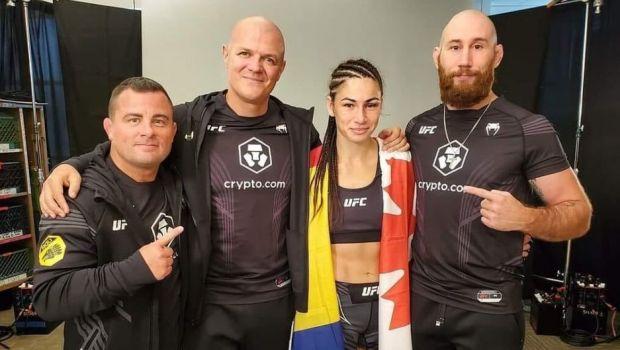 Diana Belbiță a făcut istorie! Performanță uriașă reușită de luptătoare în Las Vegas