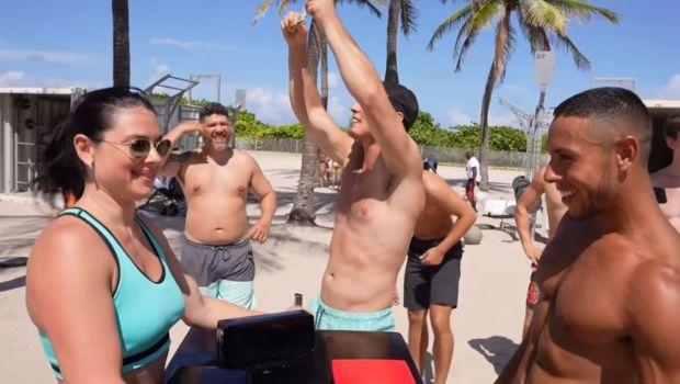 Campioană mondială de 13 ori la armwrestling, o femeie din Rusia i-a umilit pe bărbații din Miami