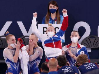 Fără Simone Biles, SUA ratează al treilea titlu olimpic consecutiv la echipe. Rusia (Team ROC), noua stea a gimnasticii