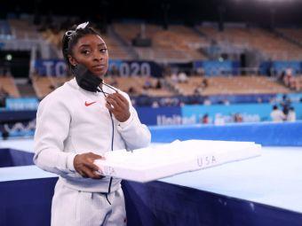 Anunțul momentului de la Jocurile Olimpice: Simone Biles s-a retras din finala de la individual compus