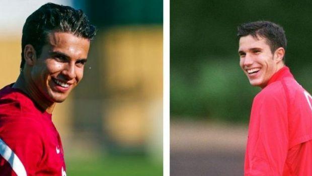 """""""Succes în acest sezon, fiule!"""" :) Van Persie a făcut senzație pe internet cu reacția sa"""