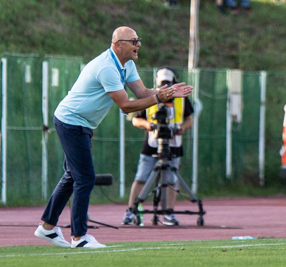 Reacția lui Leo Grozavu după eliminarea din Conference League! Antrenorul a citat-o pe Ana Maria Popescu